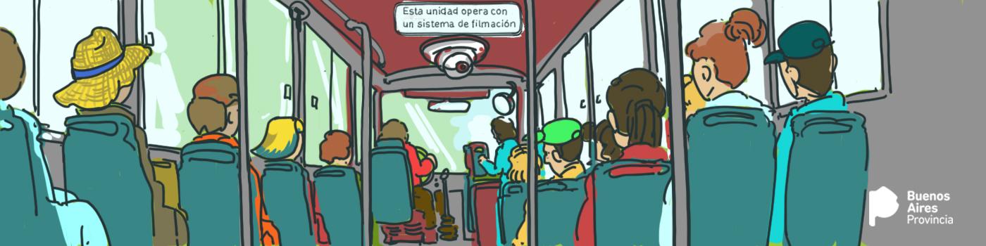 Imagen de CÁMARAS DE SEGURIDAD EN LOS COLECTIVOS DE PASAJEROS