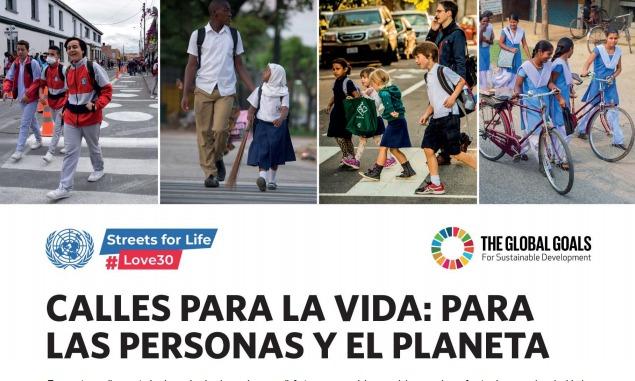 La subsecretaría de Transporte que conduce Alejo Supply se suma a la campaña calles por la vida de la ONU