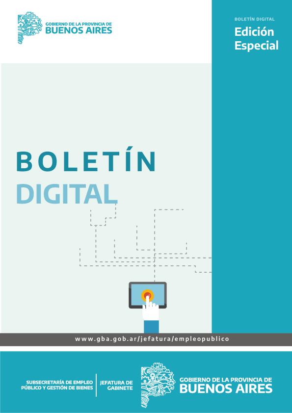 Boletín Digital Edición Especial - Subsecretaría de Empleo Público y Gestión de Bienes