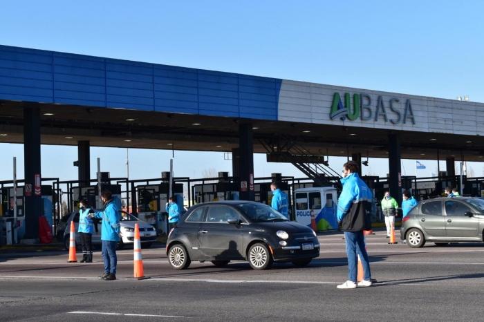 La Subsecretaría de Transporte a cargo de Alejo Supply realizó el operativo 1500 desde el comienzo del ASPO