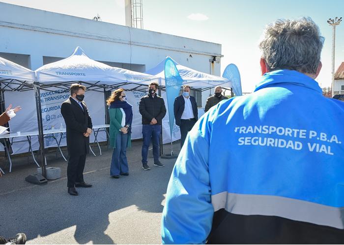 La jornada de capacitación práctica se realizó en Puerto La Plata