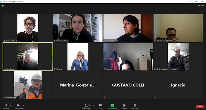 Reunión con la Asamblea de Inundados del Río Luján.
