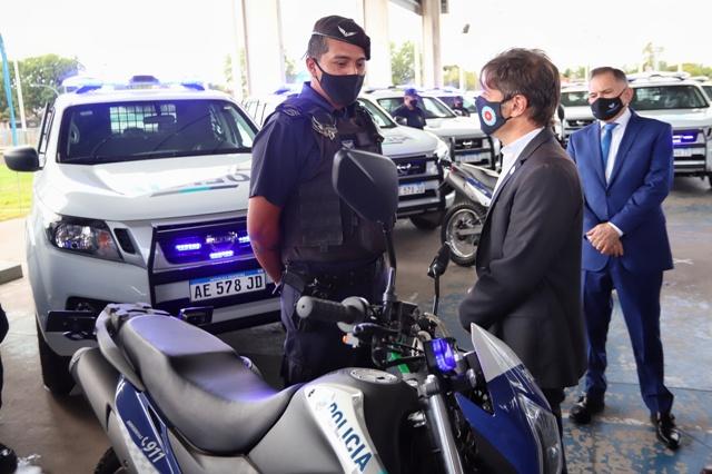 Nuevos patrulleros para Florencio Varela