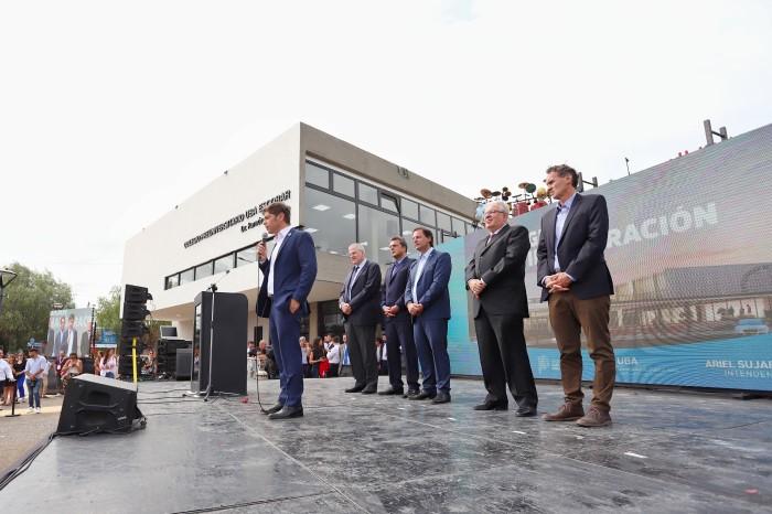 El gobernador Axel Kicillof participó de la inauguración del Colegio Preuniversitario Dr. Ramón Cereijo, en Escobar.