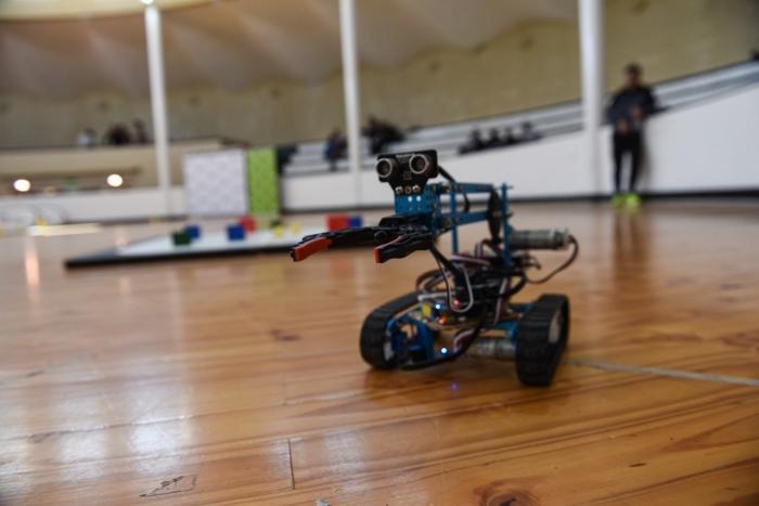 Robótica es una de las nuevas disciplinas de lo Juegos Bonaerenses
