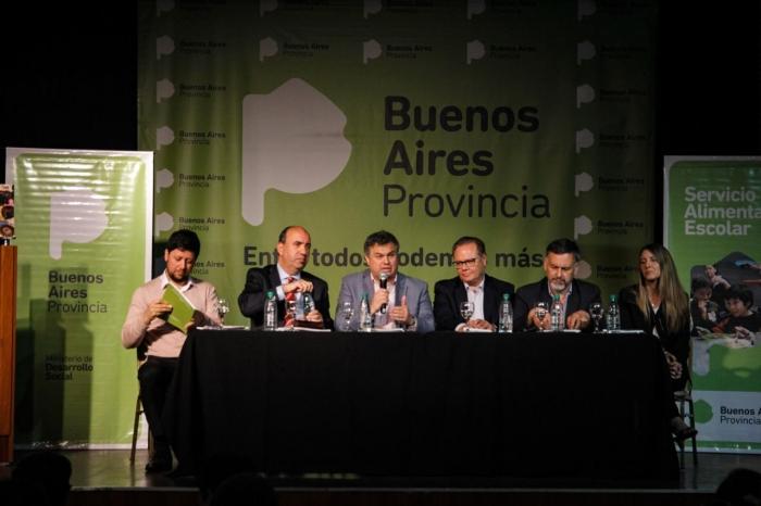 En la casa de la provincia de Buenos Aires
