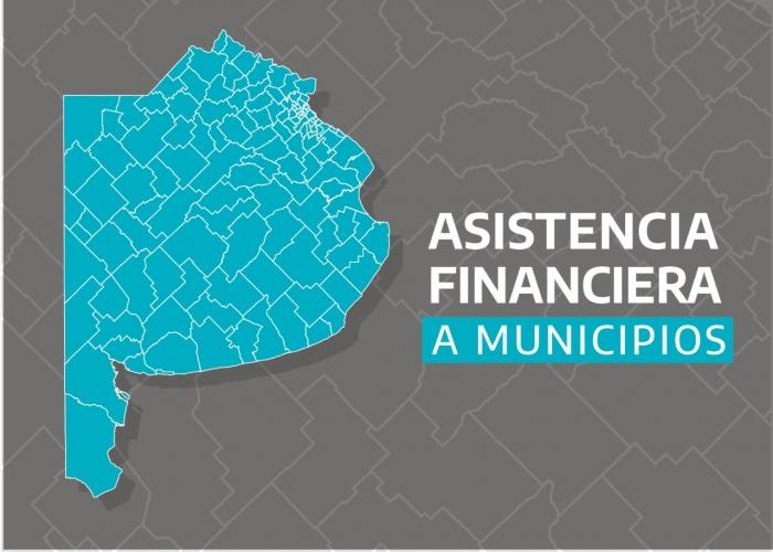 La provincia asiste financieramente a los municipios en el marco de la pandemia