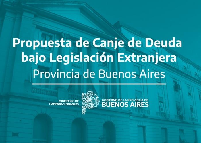 La Provincia anuncia la propuesta a tenedores de bonos bajo legislación extranjera