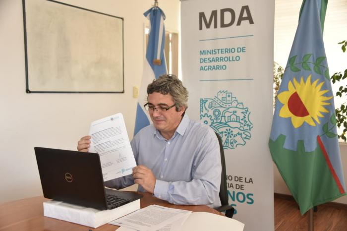 El MDA trabajará junto a Fundación Bosques Nativos para promover la foretación