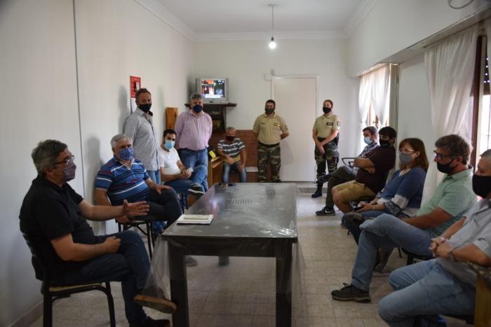 Desarrollo Agrario y el Municipio de Gonzáles Chaves avanzan en políticas para potenciar la capacidad de respuesta frente a deli
