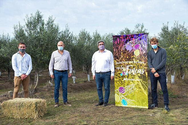 El ministro Rodríguez destacó la calidad de la producción olivícola bonaerense