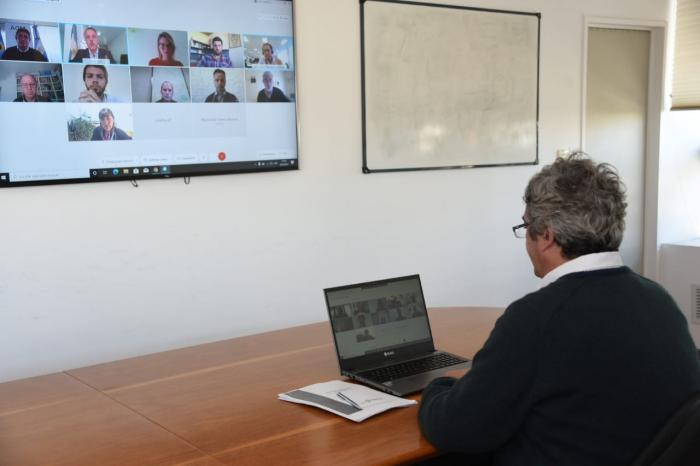 El ministro Rodríguez se reunió con empresas y cooperativas semilleras de trigo