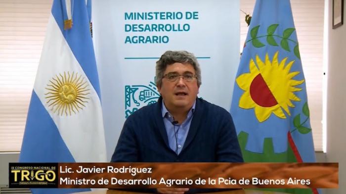 """Rodríguez destacó que se espera una """"muy buena"""" campaña de trigo en la Provincia"""
