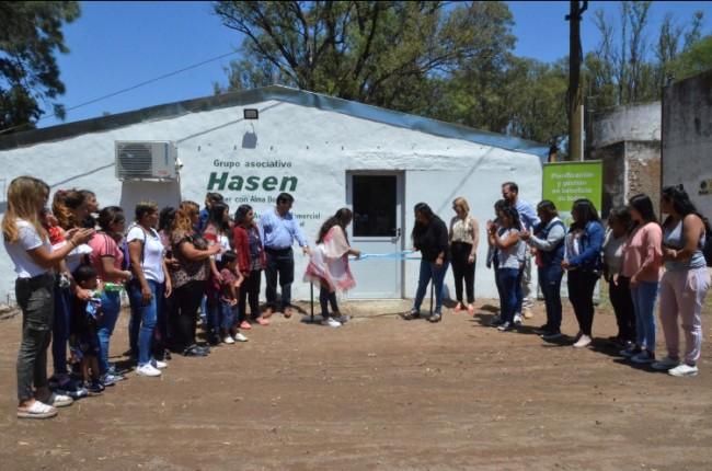 mujeres apuesta a la bioeconomía e inaugura un centro de producción de hongos comestibles