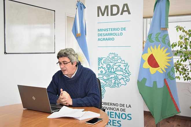 Rodríguez encabezó la Mesa de Mercados Mayoristas Frutihortícolas