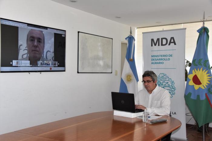 El MDA firmó un acuerdo para instalar un laboratorio de cultivo de tejidos vegetales en la Estación Experimental Mercedes