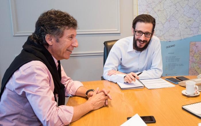 Agustín Simone y Gustavo Posse