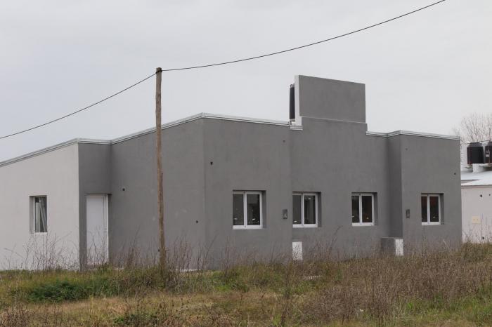 Ayacucho: etapa final de la construcción de viviendas