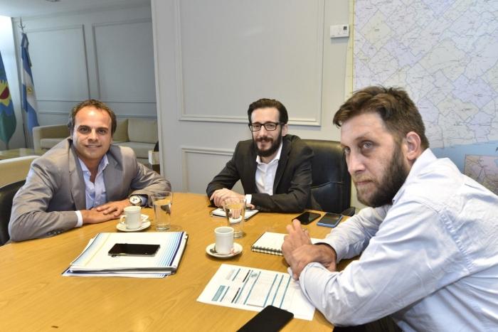 Ministro Simone e intendente Gral. Pinto