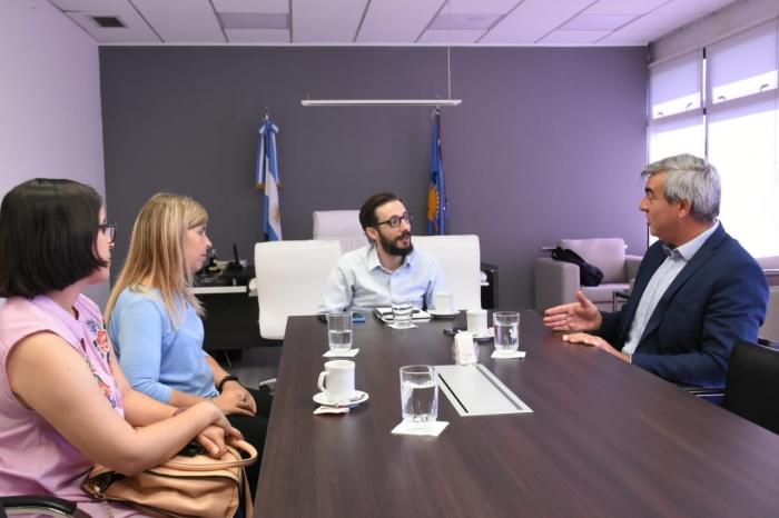 Reunión con Francisco Durañona