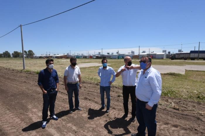 Simone recorrió Carlos Casares, Pehuajó y Carlos Tejedor