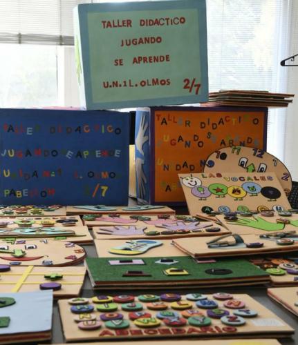 Privados de la libertad donaron juguetes didácticos a la fundación Ludovica