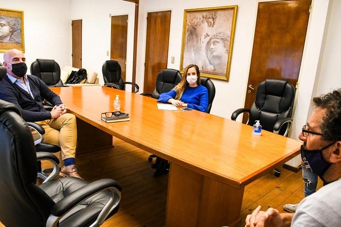 Funcionarios del Ministerio de Justicia recibieron a familiares de Katherine Moscoso