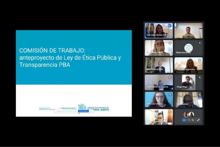 La reunión virtual se realizó en el marco de la Agenda Participativa 2021 que fue presentada por el Ministro de Justicia y Derec
