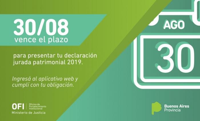 Declaración Jurada Patrimonial 2019