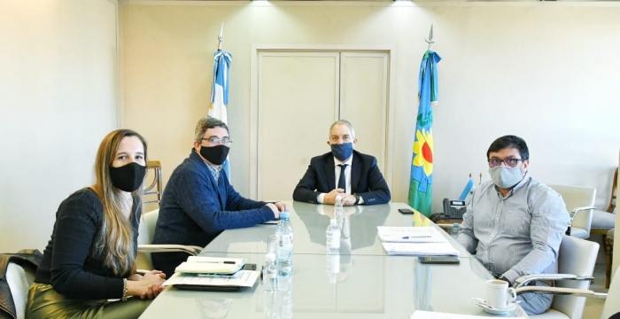 La reunión se llevó a cabo en la cartera de Justicia y DDHH