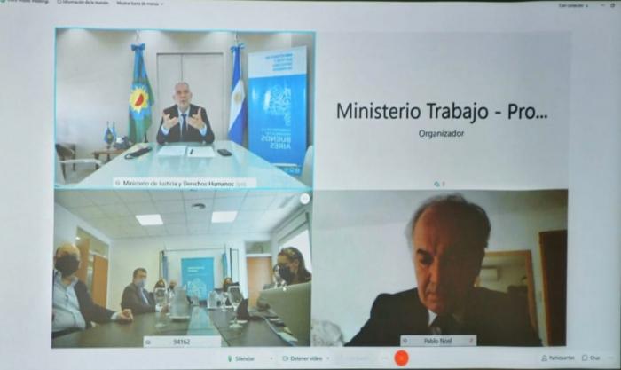 Se realizó un encuentro virtual para analizar el régimen para los procesos judiciales laborales