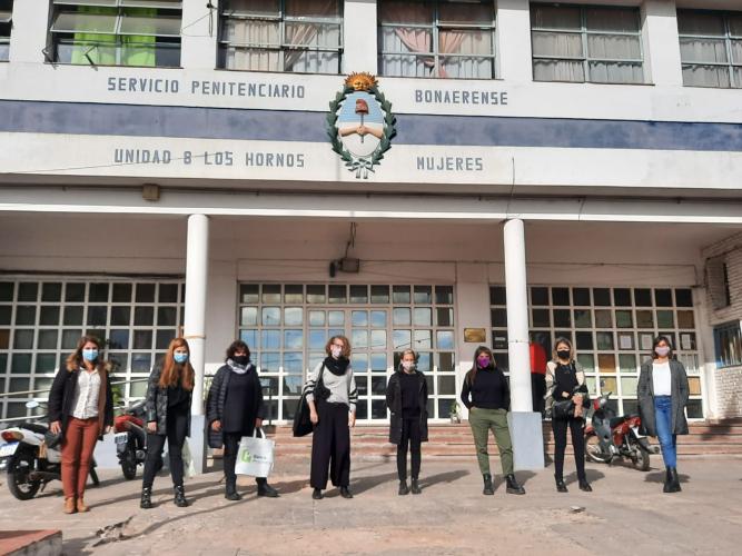 Desde el programa Gestión de la Higiene Menstrual en Contextos de Encierro, el Gobierno de la provincia de Buenos Aires entregó