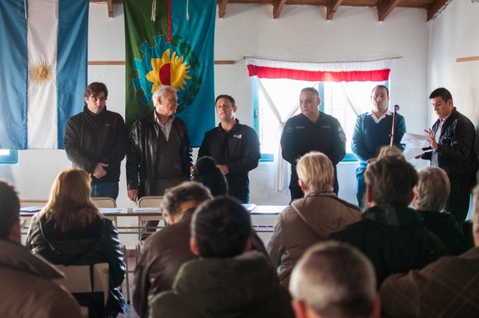 Encuentro entre internos del penal de Varela y empresarios  pymes