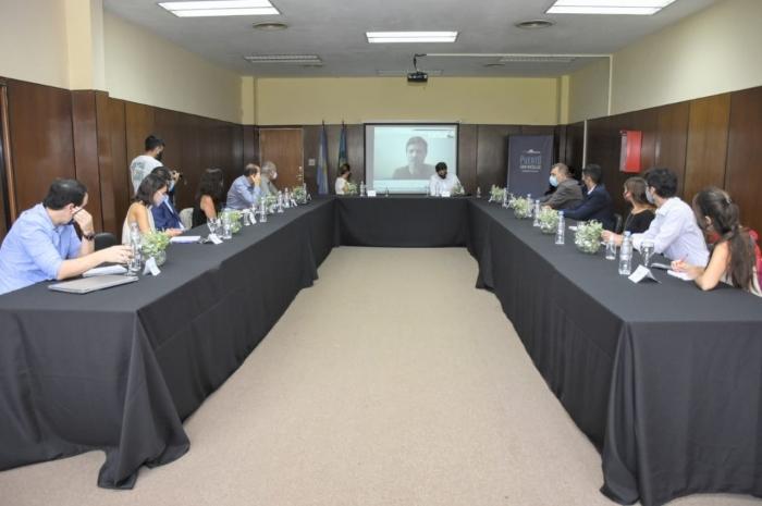 Presidentes de Consorcios de Gestión Portuaria de la provincia de Buenos Aires
