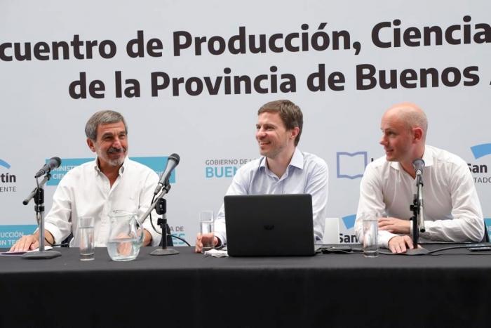 Costa encabezó el Primer encuentro de Producción y Ciencia de la Provincia de Buenos Aires
