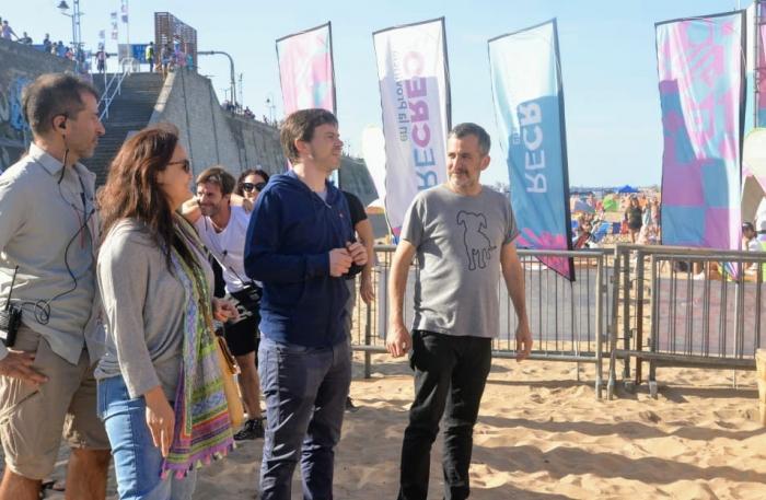 Costa estuvo en el cierre de ReCreo en Mar del Plata