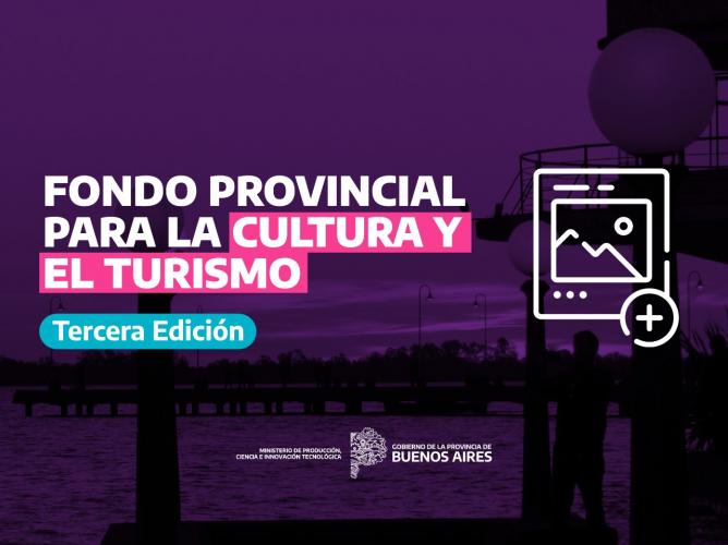 Fondo para cultura y turismo