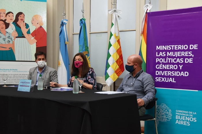 Mar Chiquita y Necochea firmaron el Programa Comunidades sin Violencias