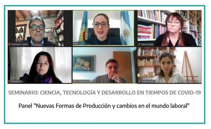 """Estela Díaz: """"La producción y el trabajo son agenda prioritaria"""""""