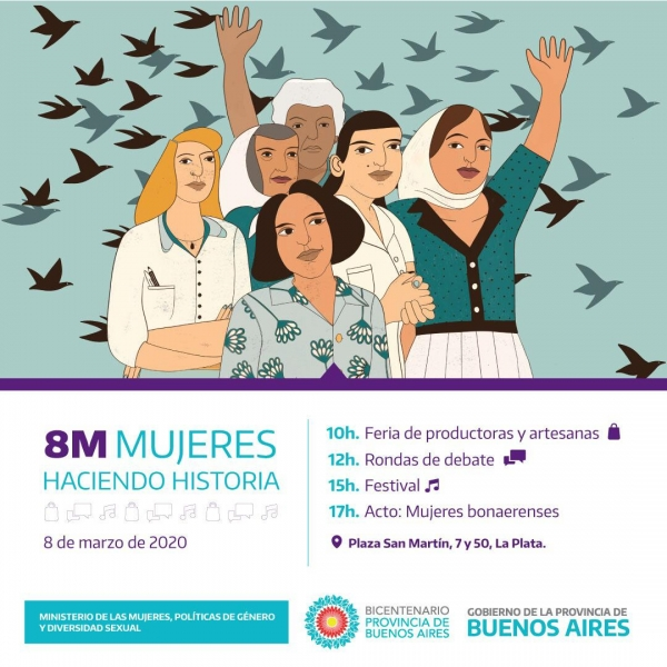 #8M, Día Internacional de las Mujeres Trabajadoras