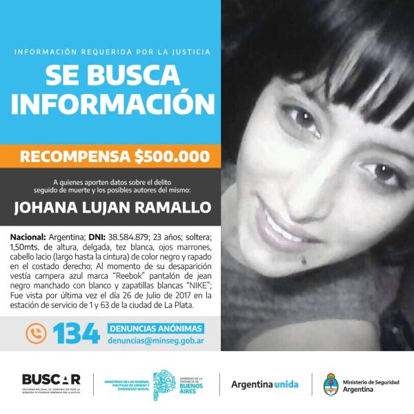 4 AÑOS DE LA DESAPARICIÓN DE JOHANA RAMALLO