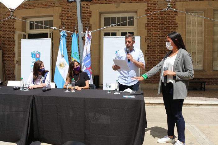 Se presentó la Secretaría de Género del municipio de Pilar