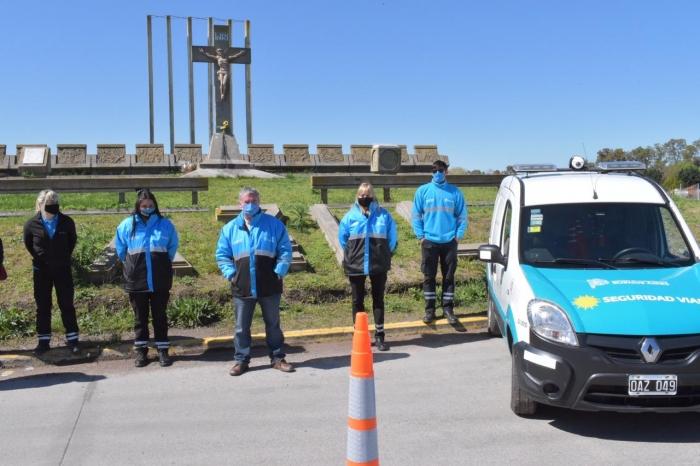 La Subsecretaría de Transporte a cargo de Alejo Supply puso en funciones el nodo vial de Azul