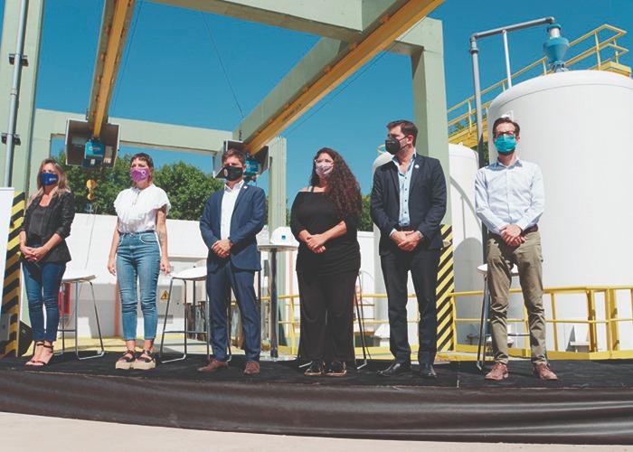 Inauguración de obras en Villa Itatí