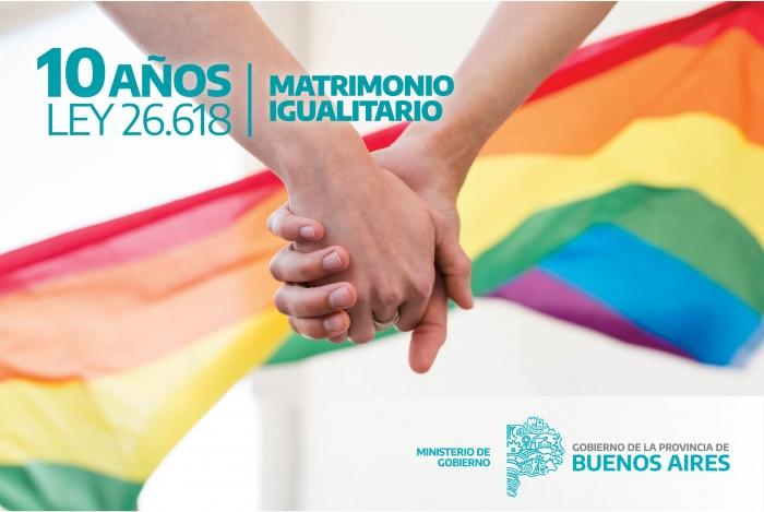 Provincia: desde julio de 2010 hasta mayo de 2020 se registraron 5.650 matrimonios entre personas del mismo sexo