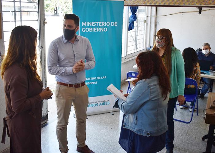 El Registro de las Personas concretó en Moreno un nuevo operativo de documentación.