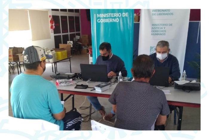 El Registro de las Personas de la provincia de Buenos Aires llevó adelante el plan de acreditación de Identidad en la Delegación