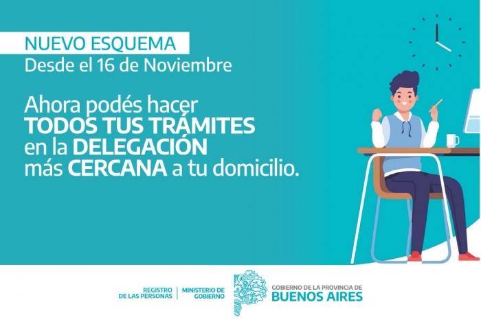 Cambia el esquema de atención al público en los registros civiles |  Provincia de Buenos Aires