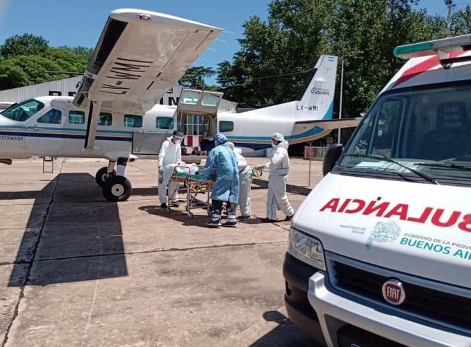 vuelos sanitarios