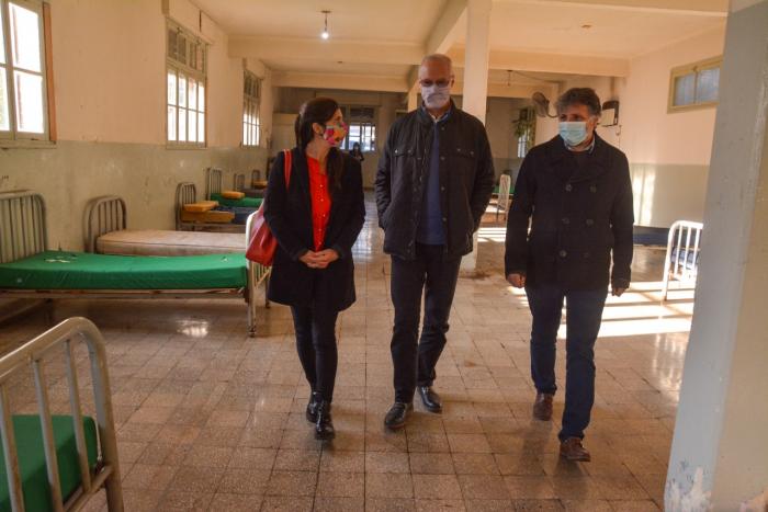 Gollan y Calmels participaron del cierre de otro pabellón del neuropsiquiátrico de Luján